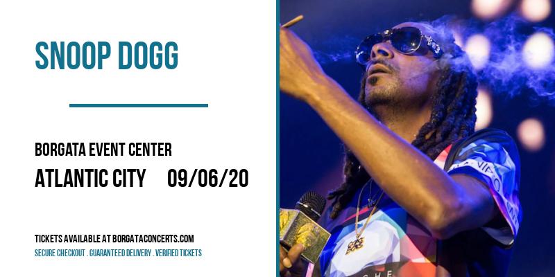 Snoop Dogg at Borgata Event Center