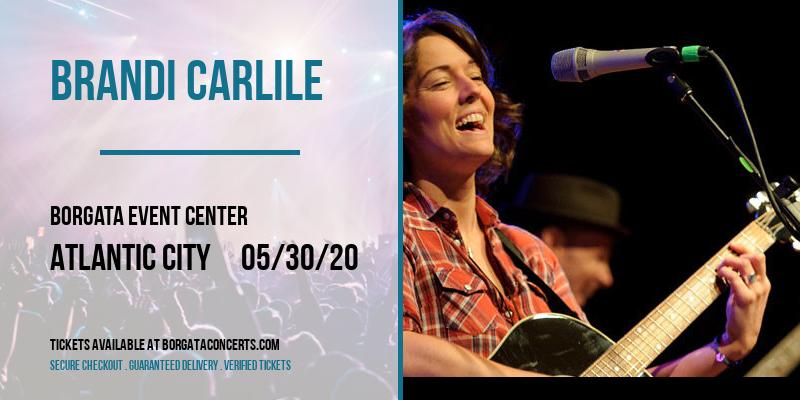 Brandi Carlile [CANCELLED] at Borgata Event Center