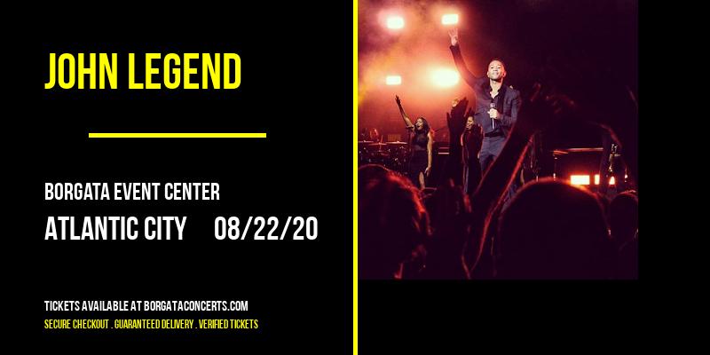 John Legend [CANCELLED] at Borgata Event Center