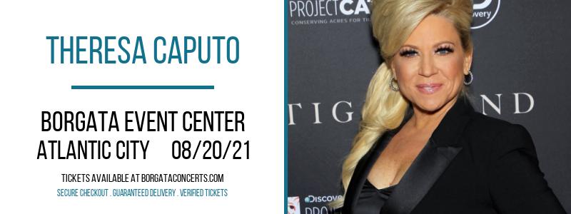 Theresa Caputo at Borgata Event Center