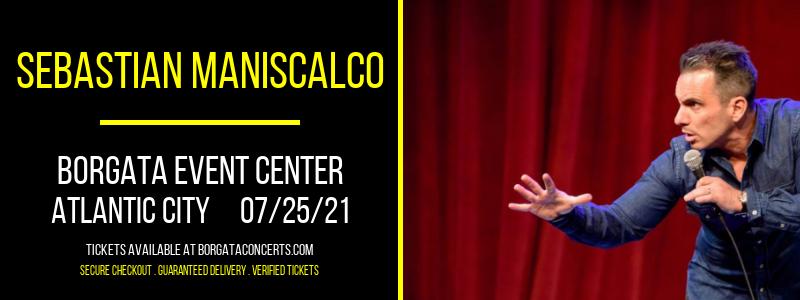 Sebastian Maniscalco at Borgata Event Center