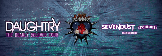 Daughtry, Sevendust, Tremonti & Travis Bracht at Borgata Event Center
